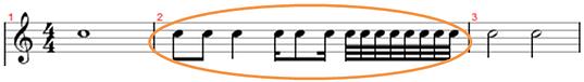 compassos musicais