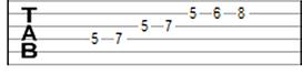 tablatura violao