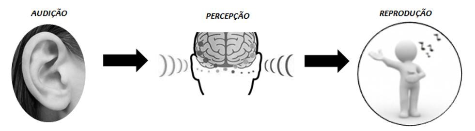 percepção da afinação ouvido