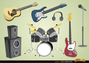 instrumentos para tocar